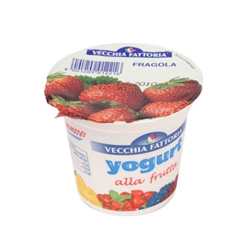 F YOGURT INT. 125gr. FRAGOLA  #